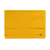 Elba Bright Manilla Foolscap Yellow Document Wallet 290gsm 100090141