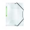 Elba 2nd Life A4 Three Flap Folder Clear 400059426