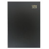 Collins Desk Diary A5 Day Per Page 2020 Black (Cased in durable leathergrain with page marker) 52
