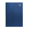 Collins Desk Diary A5 Day Per Page 2020 Blue (Features web directory and staff holiday planner) 52