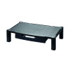Contour Ergonomics Extra Wide Monitor Stand with Drawer Black CE04691