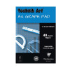 Technik Art 1/5/10mm Graph Pad 40 Leaf XPG1