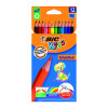 Bic Kids Evolution Ecolutions Colouring Pencils Assorted (Pack of 12) 829029