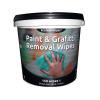 EcoTech Paint and Graffiti Wipes Tub of 150 EBPG150