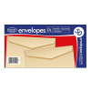 County Stationery DL Manilla Gummed Envelopes (Pack of 1000) C501