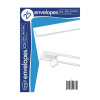 County Stationery C5 25 White Peel & Seal Envelopes (Pack of 20) C513