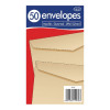 County Stationery Manilla Gummed Envelopes 89x152mm (Pack of 1000) C517