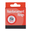 PAPER REINFORCEMENTS 250 (Pack of 12) C334