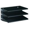 Durable A4 Sorter Rack 3 Tray Grey 335910