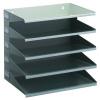 Durable A4 Sorter Rack 5 Tray Grey 336010