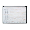 Durable Pinewood Panels Calendar Desk Mat 590 x 420mm 7312