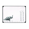 Durable African Wildlife Calendar Desk Mat 590 x 420mm 7313
