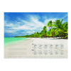 Durable Tropical Beach Calendar Mat Refill 570 x 410mm 7321