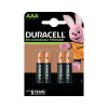 Duracell Stay Charged Rechargeable AAA NiMH 750mAh Batteries (Pack of 4) 81364750