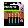Duracell Stay Charged AAA Batteries (Pack of 4) 75071747