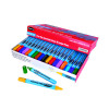 Show-me Fine Point Slim Barrel Drywipe Assorted Marker (Pack of 50) FPSDP50A