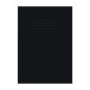 Education A4 Sketchbook Black (Pack of 2x25) NU602007