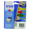 Q-Connect Epson T0520 Remanufactured Colour Inkjet Cartridge C13T05204010 / T052040