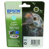 Epson T0795 Light Cyan Inkjet Cartridge C13T07954010 / T0795