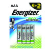 Energizer EcoAdvanced Alkaline AAA Batteries E92 (Pack of 4) + 2 Free) E300135300