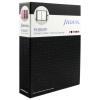Filofax Finsbury Organiser Personal Black (Features zipped internal pocket and pen loop) 025302