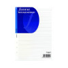Filofax A5 Ruled White Paper (Pack of 25) 343008