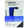 GBC LeatherGrain 250gsm A5 Black Binding Covers (Pack of 100) 4400017