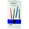 GBC Black CombBind 12mm Binding Combs (Pack of 100) 4028177