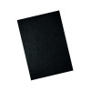 GBC LeatherGrain 250gsm A4 Black Binding Covers (Pack of 100) 46300U
