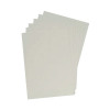 GBC LeatherGrain 250gsm A4 White Binding Covers (Pack of 100) 91486U