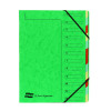 Europa 12 Part A4 Green Organiser 5223Z