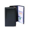 Goldline Black Deluxe Stitched Business Card Holder 96 Card Capacity SBC3P/BLK