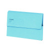 Guildhall Foolscap Blue Document Wallet (Pack of 50) GDW1-BLU