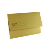 Guildhall Foolscap Yellow Document Wallet (Pack of 50) GDW1-YLW