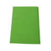 Q-Connect Green Square Cut Folder Medium Weight 250gsm Foolscap (Pack of 100) KF01189