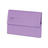 Guildhall Foolscap Violet Document Wallet (Pack of 50) GDW1-VLT