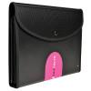 Exacompta Exactive Exafolio Conference Folder 6-Part Black 55834E