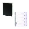 Guildhall Ring Binder 30mm Black (Pack of 10) FOC 1-10 Mylar Dividers GH811503