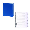 Guildhall Ring Binder 30mm Blue (Pack of 10) FOC 1-10 Mylar Dividers GH811504