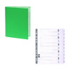 Guildhall Ring Binder 30mm Green (Pack of 10) FOC 1-10 Mylar Dividers GH811506