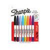 Sharpie Twin Tip Permanent Marker Assorted (Pack of 8) 2065409