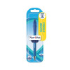 Papermate Flexgrip Retractable Ballpoint Blue PenBlister Card 2027752