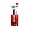 Sharpie Permanent Markers Twin Tip Blister Black (Pack of 12) S0811100