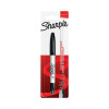 Sharpie Permanent Markers Twin Tip Blister Black (Pack of 12) S0811140