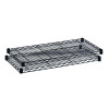 Safco Extra Wire Shelves For Shelving Units (Pack of 2) 5242BL