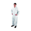 Non-Woven Coverall Large White (Tested to PPE Directive 89/686/EEC) DC03