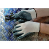 Shield Grey nitrile coated nylon Gloves gi/nn9