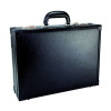Monolith Black Expandable Leather Attache Case (Single) 2253
