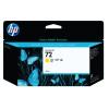 HP 72 Yellow Ink Cartridge (High Yield, 130ml Capacity) C9373A