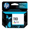 HP 110 Cyan/Magenta/Yellow Inkjet Cartridge CB304AE